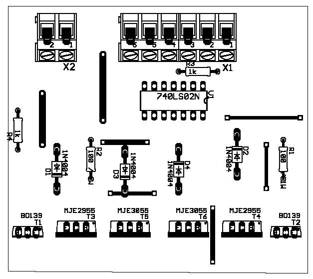 Elektronik :: Motorsteuerung mit H-Brücke